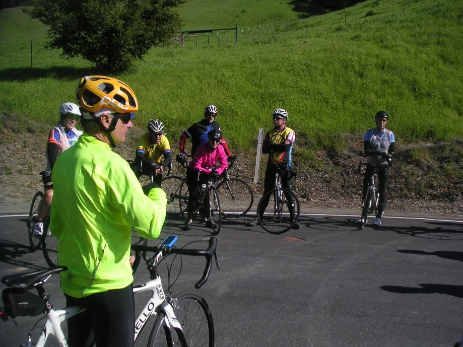 Trip photo #4/10 Regroup at end of road at Las Trampas park