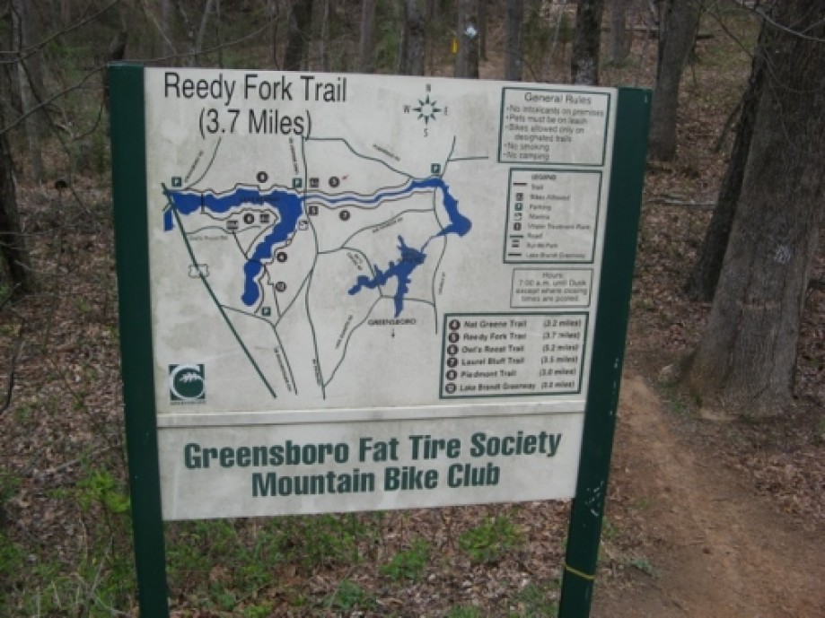 Trip photo #8/15 Reedy Fork Trail, east end