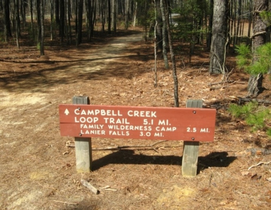 Trip photo #15/20 Campbell Creek sign