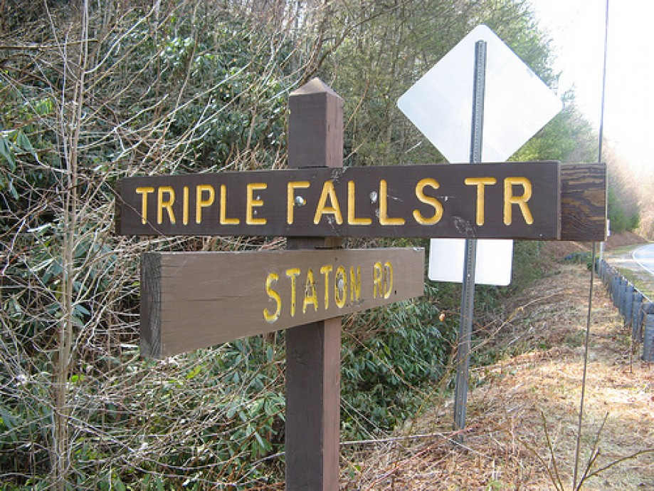 Trip photo #2/14 Hang a left at Triple Falls Trail