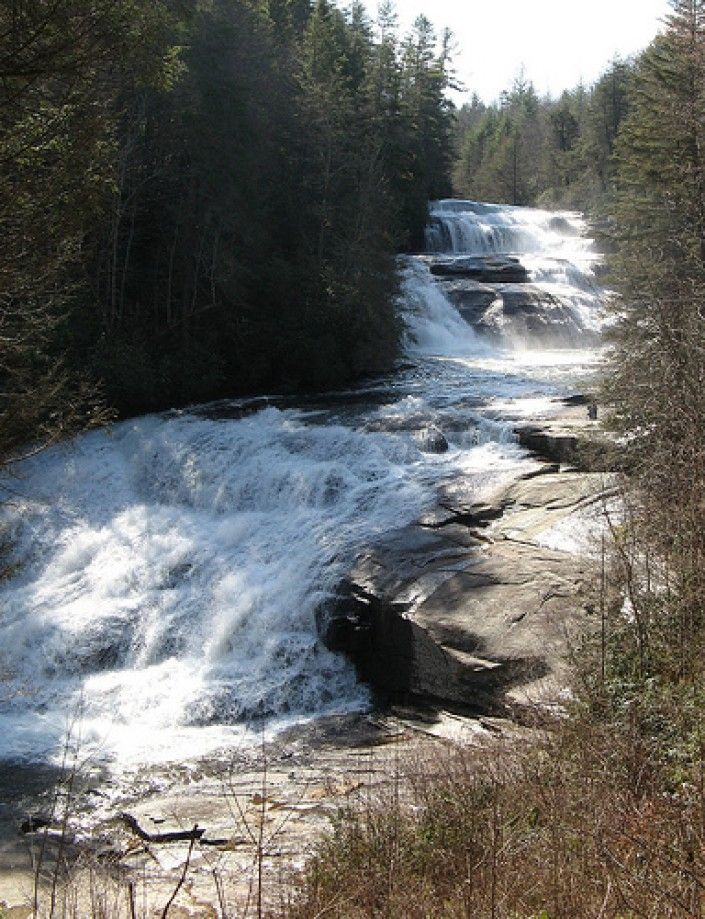 Trip photo #6/14 Three sections of Triple Falls