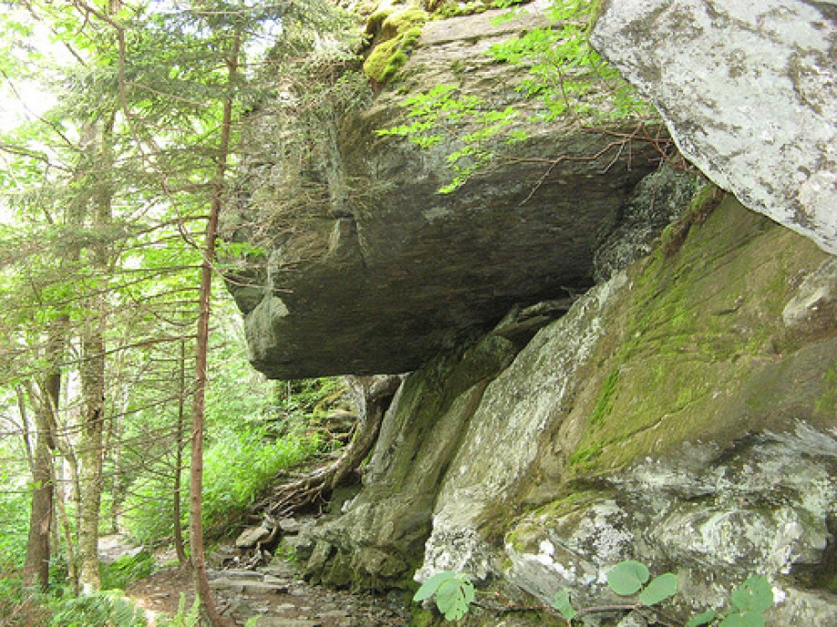 Trip photo #3/15 More large stone overhangs