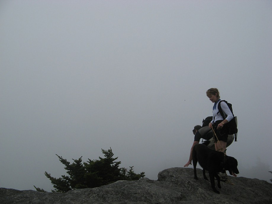 Trip photo #10/17 Summit fogged in