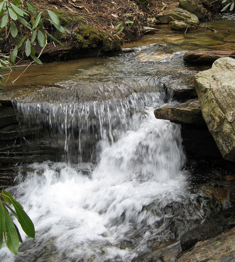 Trip photo #1/10 Tiny waterfall in Section 2