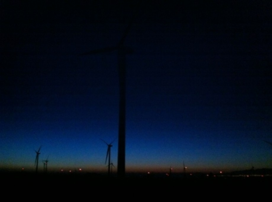 Trip photo #3/21 Windmills in the the dawn.