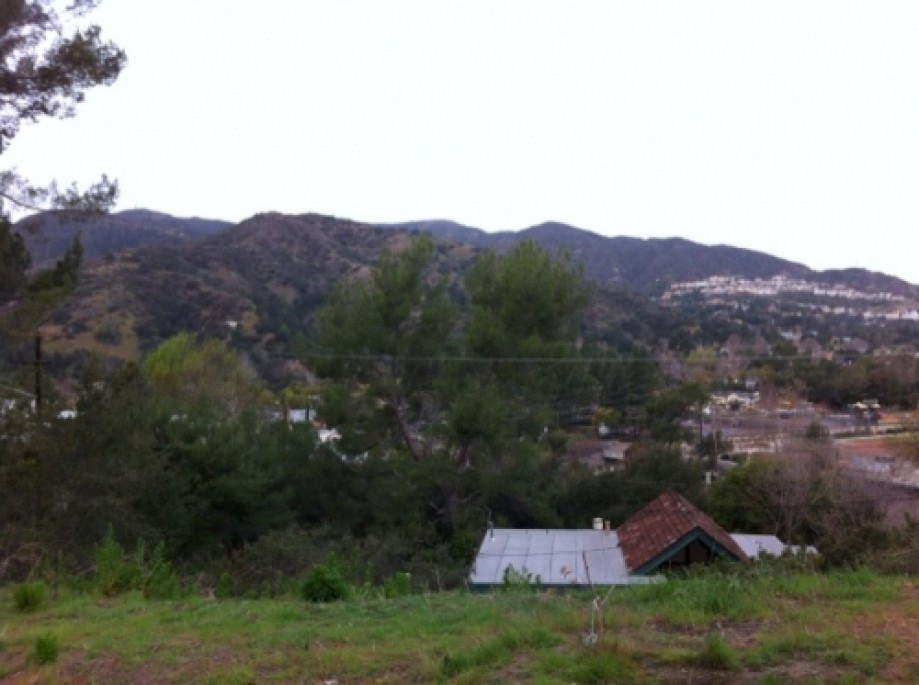 Trip photo #6/22 Looking back at east side of Verdugos