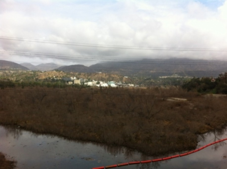 Trip photo #22/22 Hahamonga Watershed Park with JPL in background