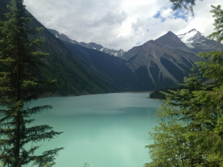 Trip photo #1/3 View over Kinney Lake.