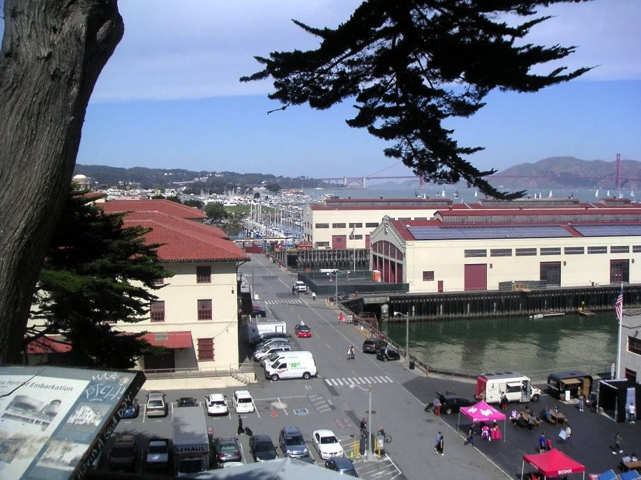 Trip photo #3/44 Fort Mason and Golden Gate behind