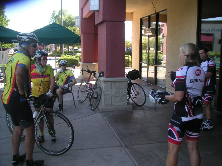 Trip photo #5/17 1st rest stop at Starbucks in Tracy
