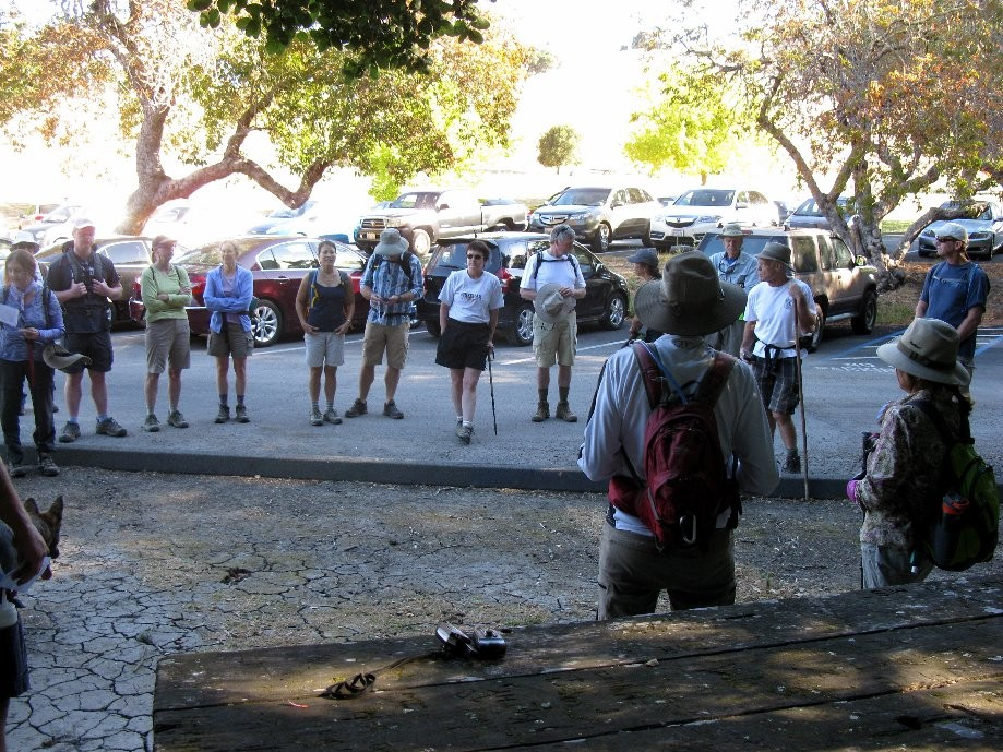 Trip photo #1/24 36 hikers at start