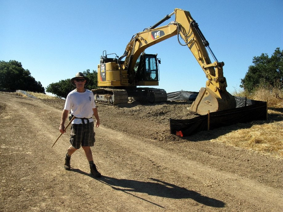 Trip photo #5/24 Construction on the Briones Crest trail to cont. into August