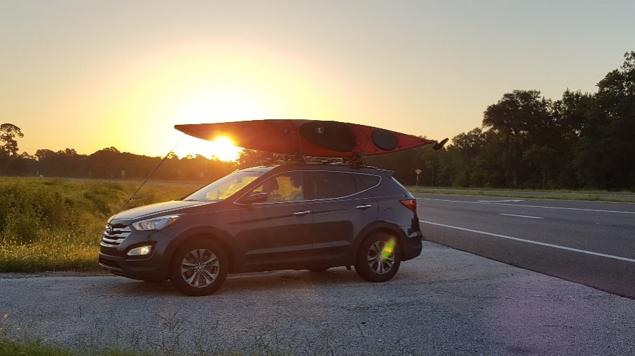 Trip photo #1/5 Early Morning - Tampico kayak at sunrise #HurricaneKayaks
