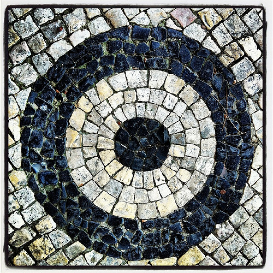Trip photo #27/69 Detail of the pavement at the Senhora do Monte belvedere