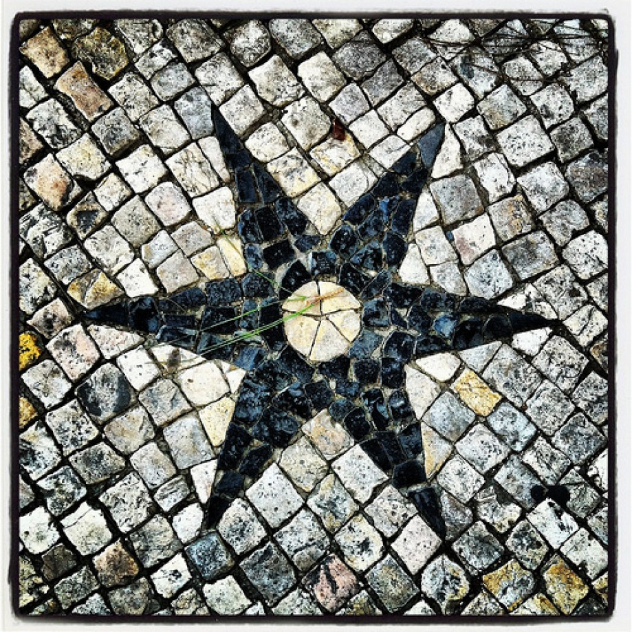 Trip photo #28/69 Detail of the pavement at the Senhora do Monte belvedere