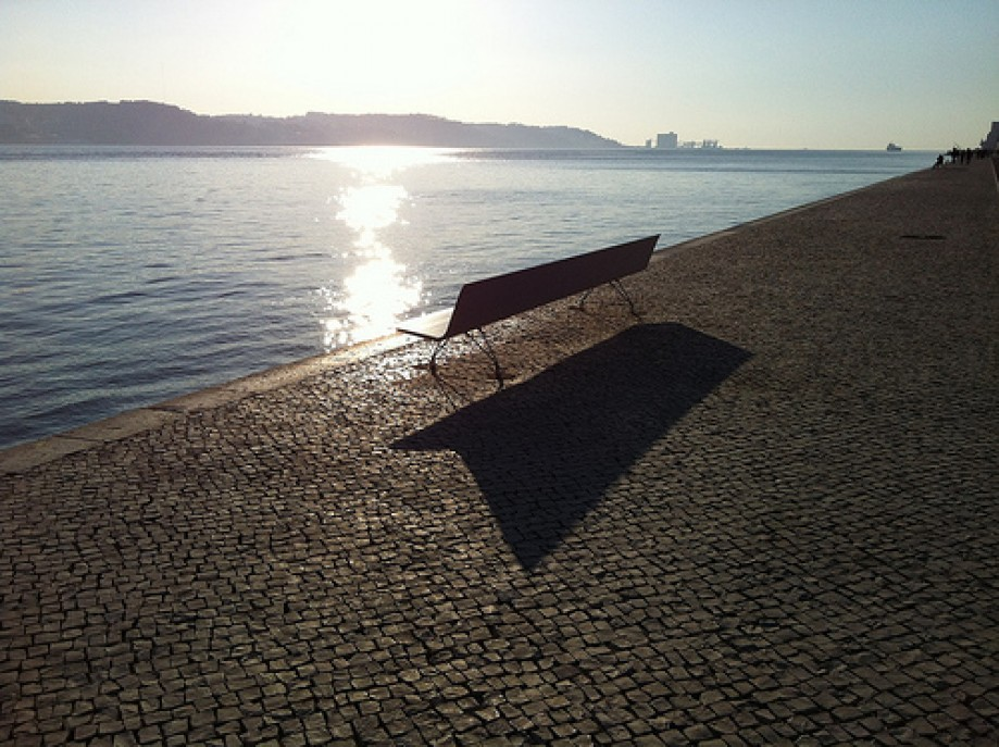 Trip photo #9/20 A lonely bench with a view