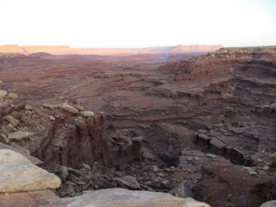 Trip photo #7/39 View from White Rim at Airport Campsite