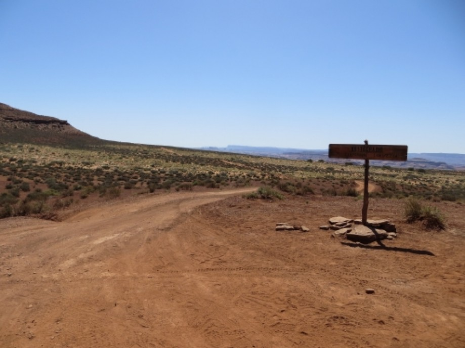 Trip photo #16/39 Spur road to White Crack Campsite