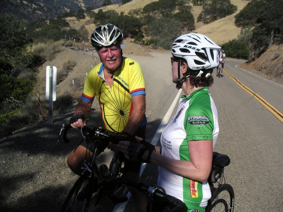 Trip photo #4/8 Short stop after the initial climb