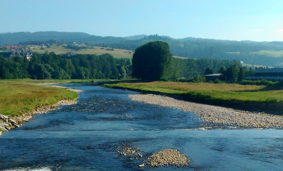 Trip photo #7/23 White Dunajec and Black Dunajec merging into Dunajec