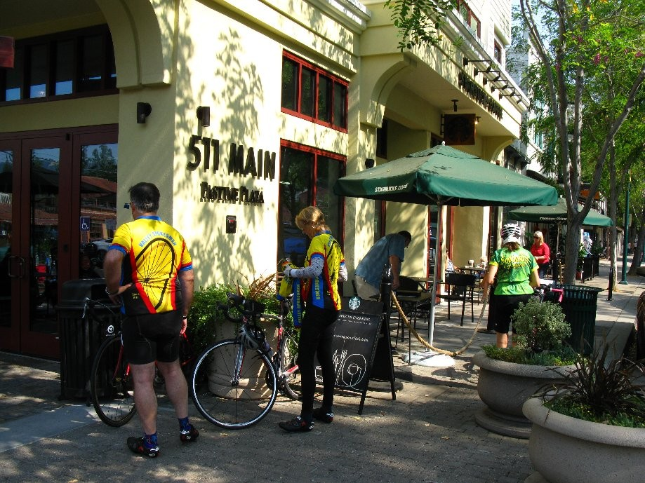 Trip photo #7/9 Refreshment stop at Starbucks in Pleasanton
