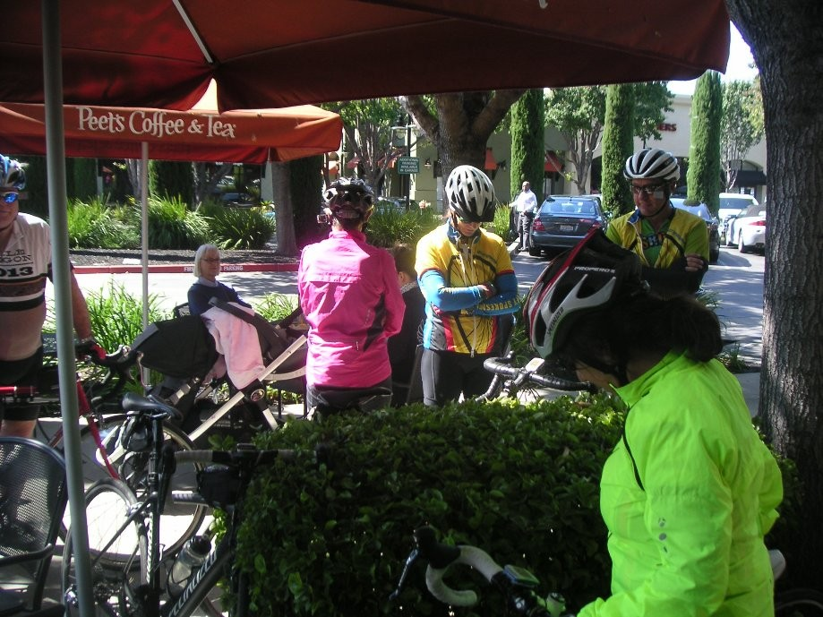 Trip photo #6/10 Refreshment stop at Peet's