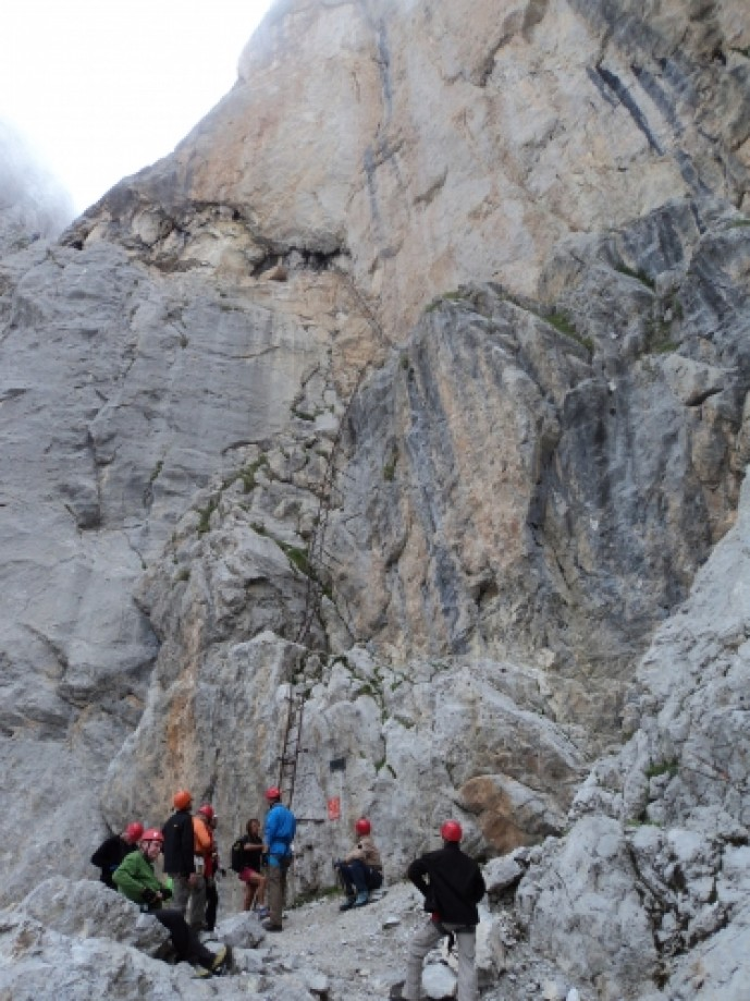 Trip photo #2/13 Start of Via ferrata Castiglioni