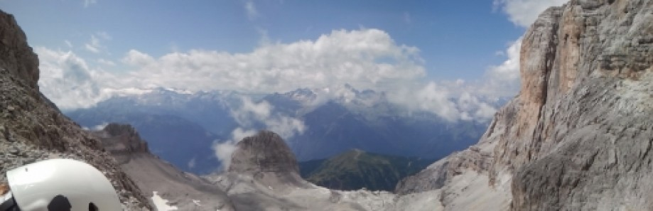 Trip photo #6/13 Panorama from Bocchette dei Due Denti