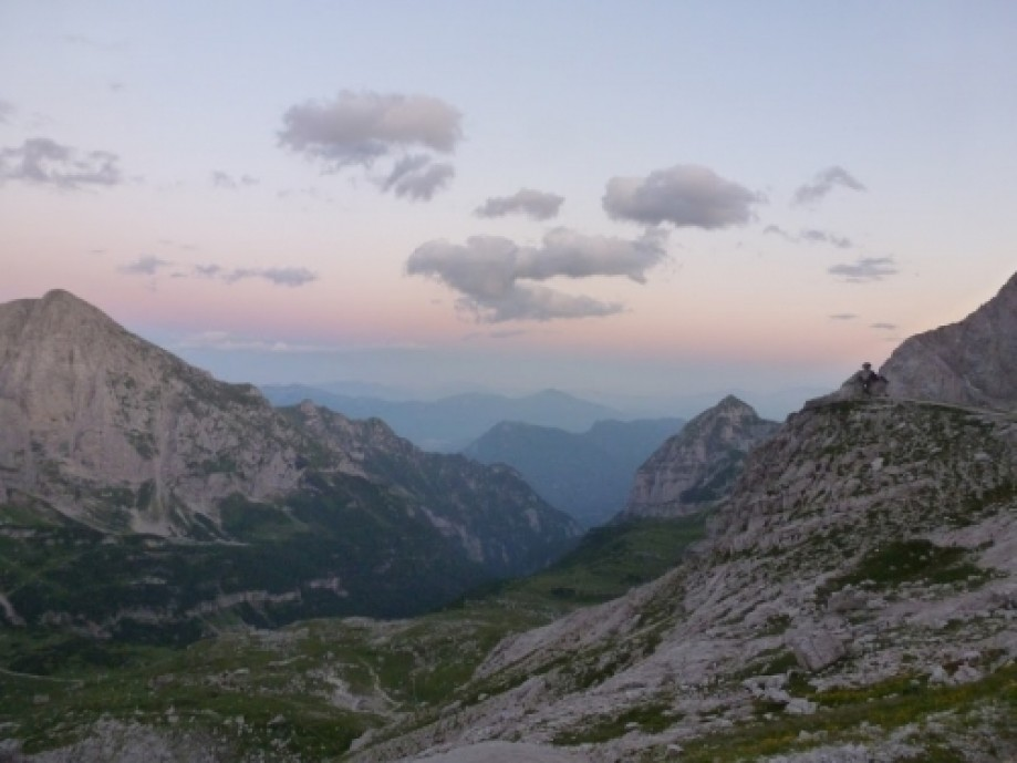 Trip photo #13/13 Sunset from Rifugio Agostini