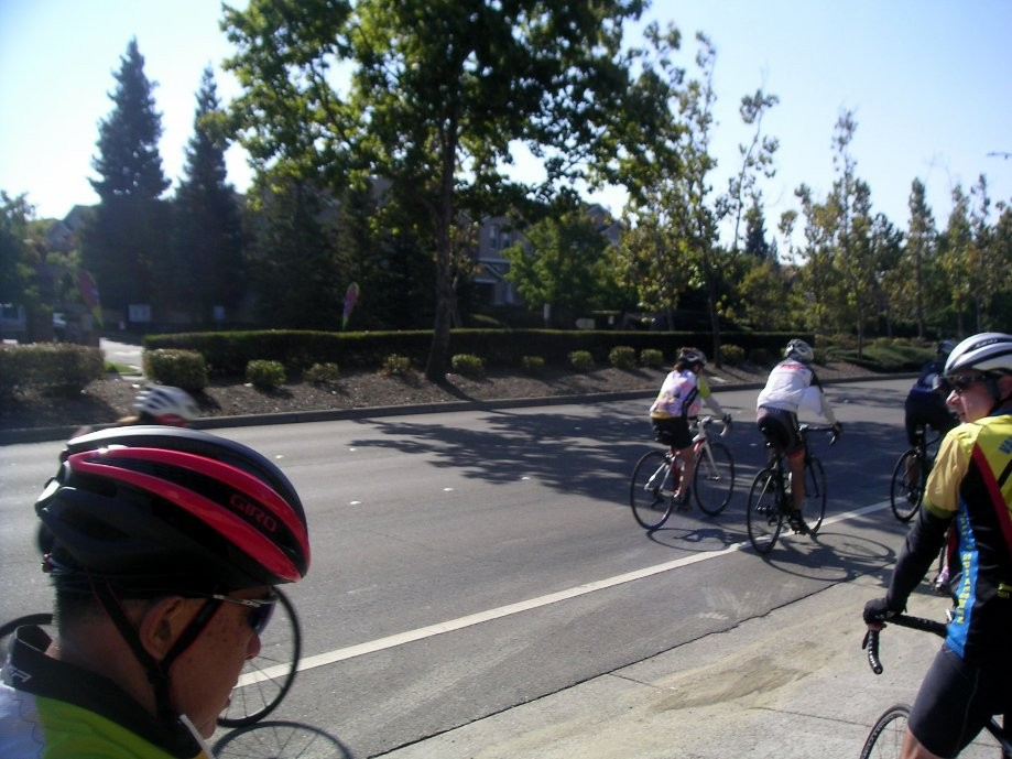 Trip photo #2/9 Regroup at Crow Canyon and Camino Tassajara