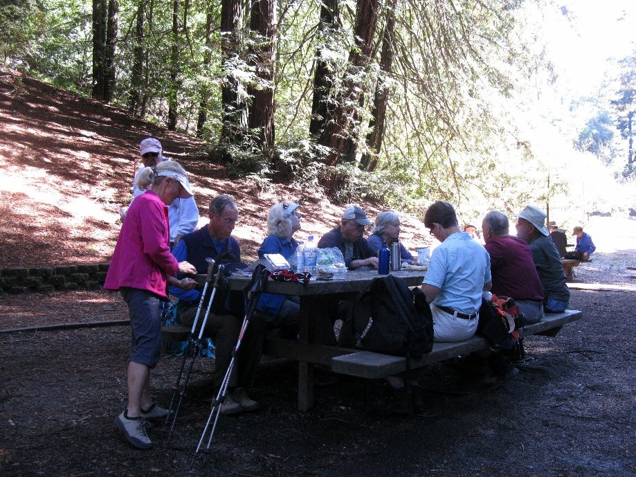 Trip photo #11/19 Refreshment stop at Redwood Bowl