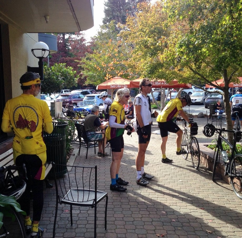 Trip photo #9/9 Refreshment stop at Danville Peet's