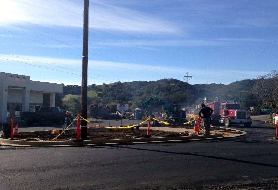Trip photo #2/11 Road construction in Sunol