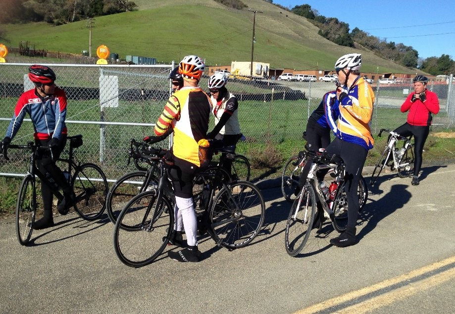 Trip photo #3/7 Regroup at 1st summit on Calaveras
