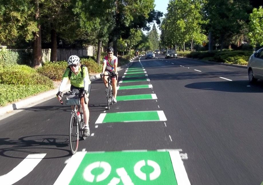 Trip photo #4/11 New bike lanes on Valley