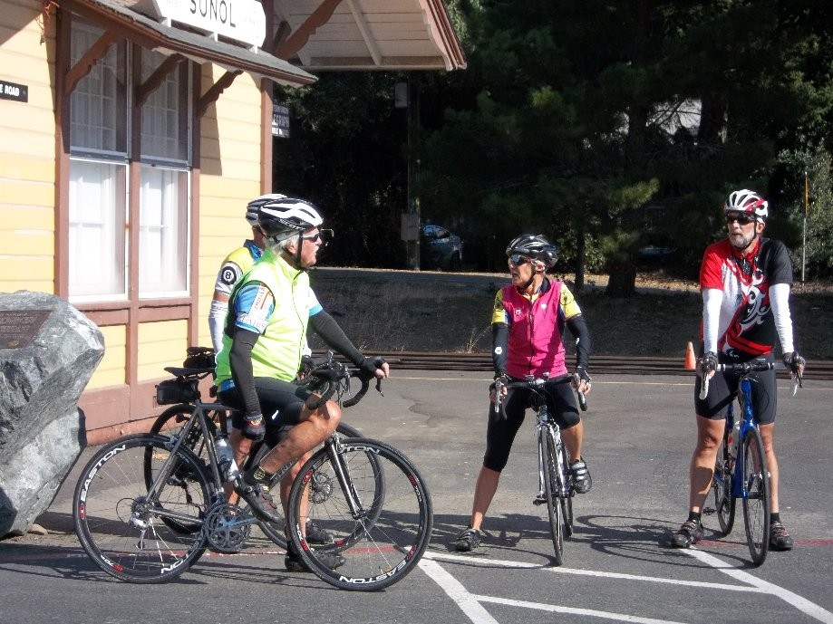 Trip photo #1/3 Regroup at Sunol RR station