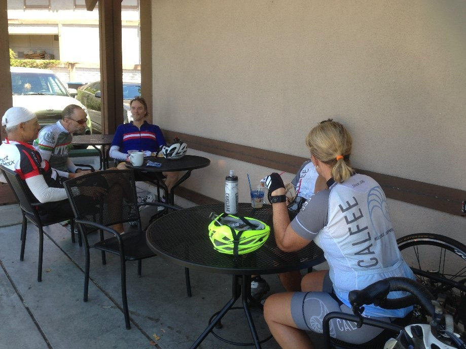 Trip photo #14/14 Refreshment stop at Peet's