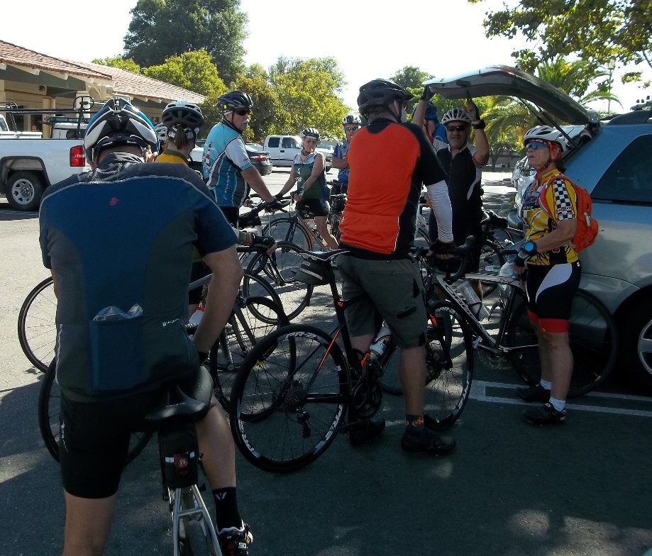 Trip photo #1/13 Start at the Dublin location of Livermore Cyclery