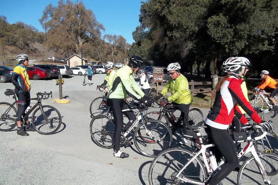 Trip photo #5/17 Regroup at Pleasanton Ridge Park