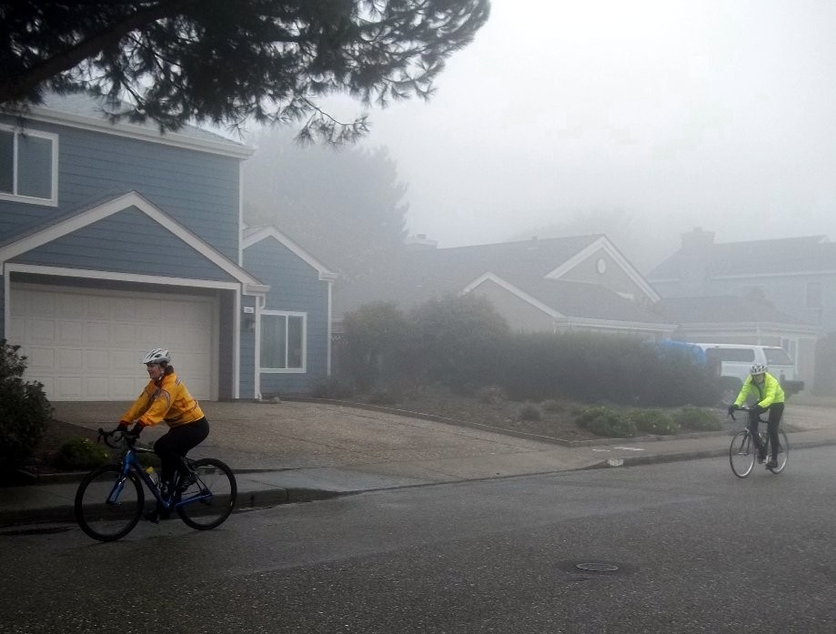 Trip photo #9/13 Fog on Primrose Ln.