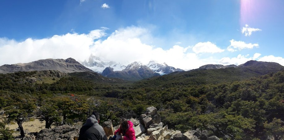 Trip photo #6/10 Mirador Fitz Roy (behind the clouds)
