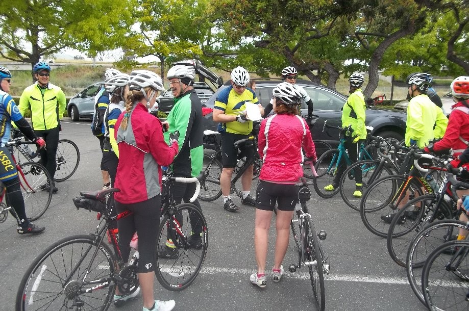 Trip photo #1/22 Ride start from Club Sport in Pleasanton