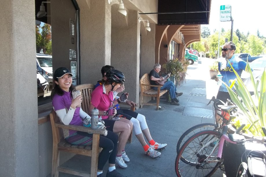 Trip photo #6/12 Refreshment stop at Peet's in Orinda