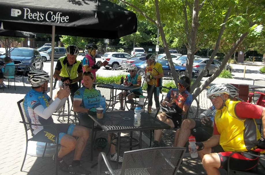 Trip photo #9/10 Refreshments at Peet's in Danville