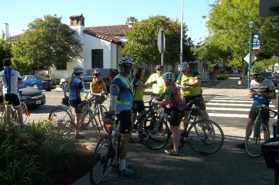 Trip photo #2/10 Ride start from Main St. in Pleasanton