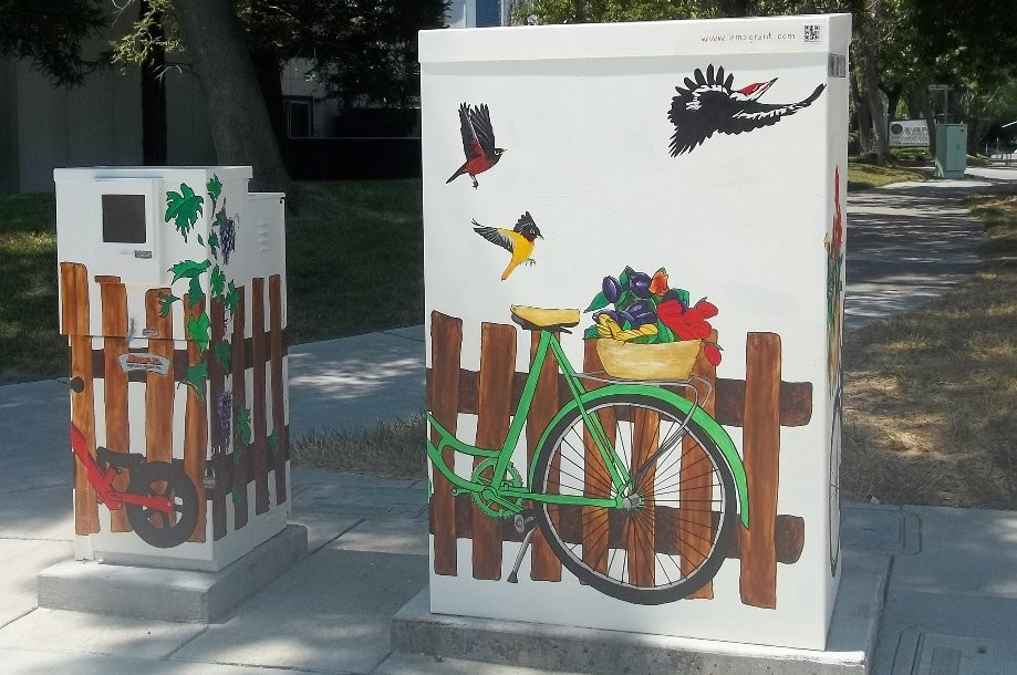 Trip photo #8/8 more painted utility boxes to discourage graffiti