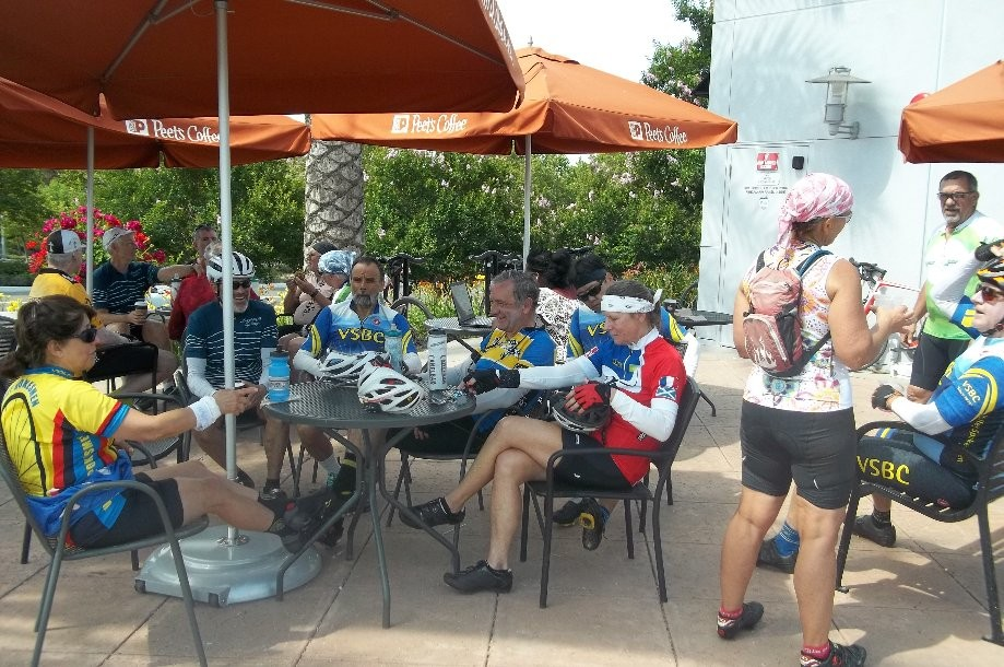Trip photo #4/9 Refreshment stop at Peet's Coffee