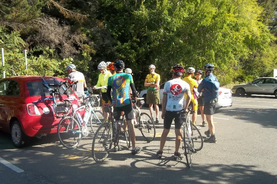 Trip photo #1/12 Club ride start from Orinda BART