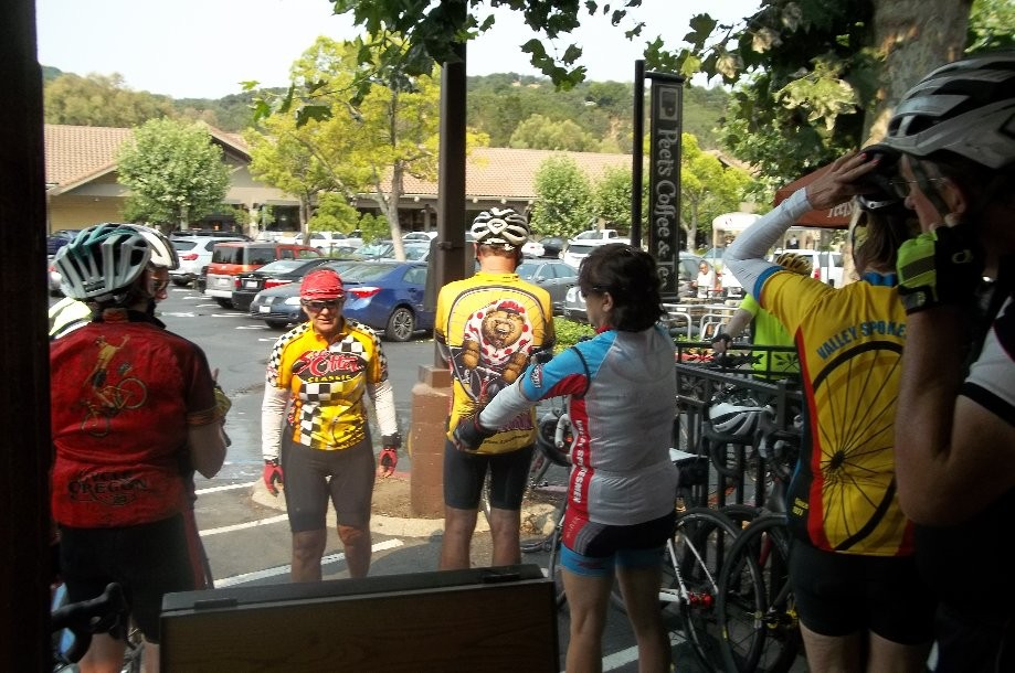 Trip photo #4/6 Refreshment stop at Peet's