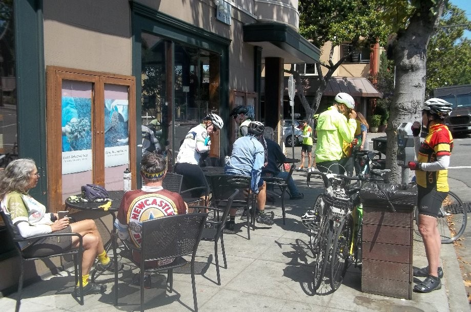 Trip photo #9/14 Refreshment stop at original Peet's